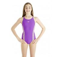 Speedo Monogramm Muscleback tüdrukute ujumistrikoo